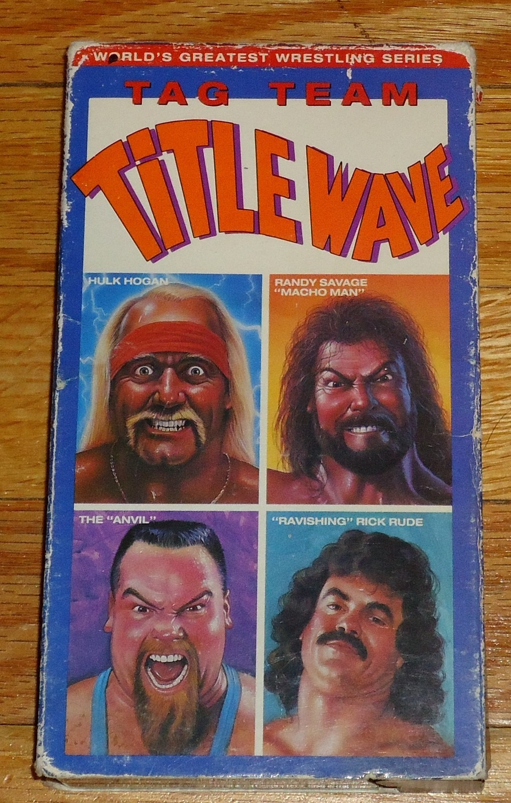 Tag Team Title Wave VHS tape