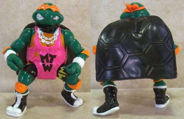 Teenage Mutant Ninja Turtles Michelangelo wrestler 1