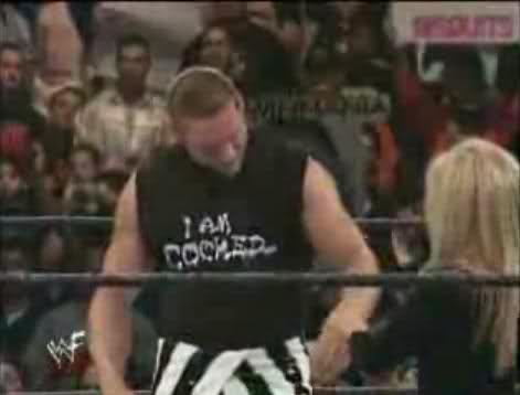 Val Venis cocked shirt