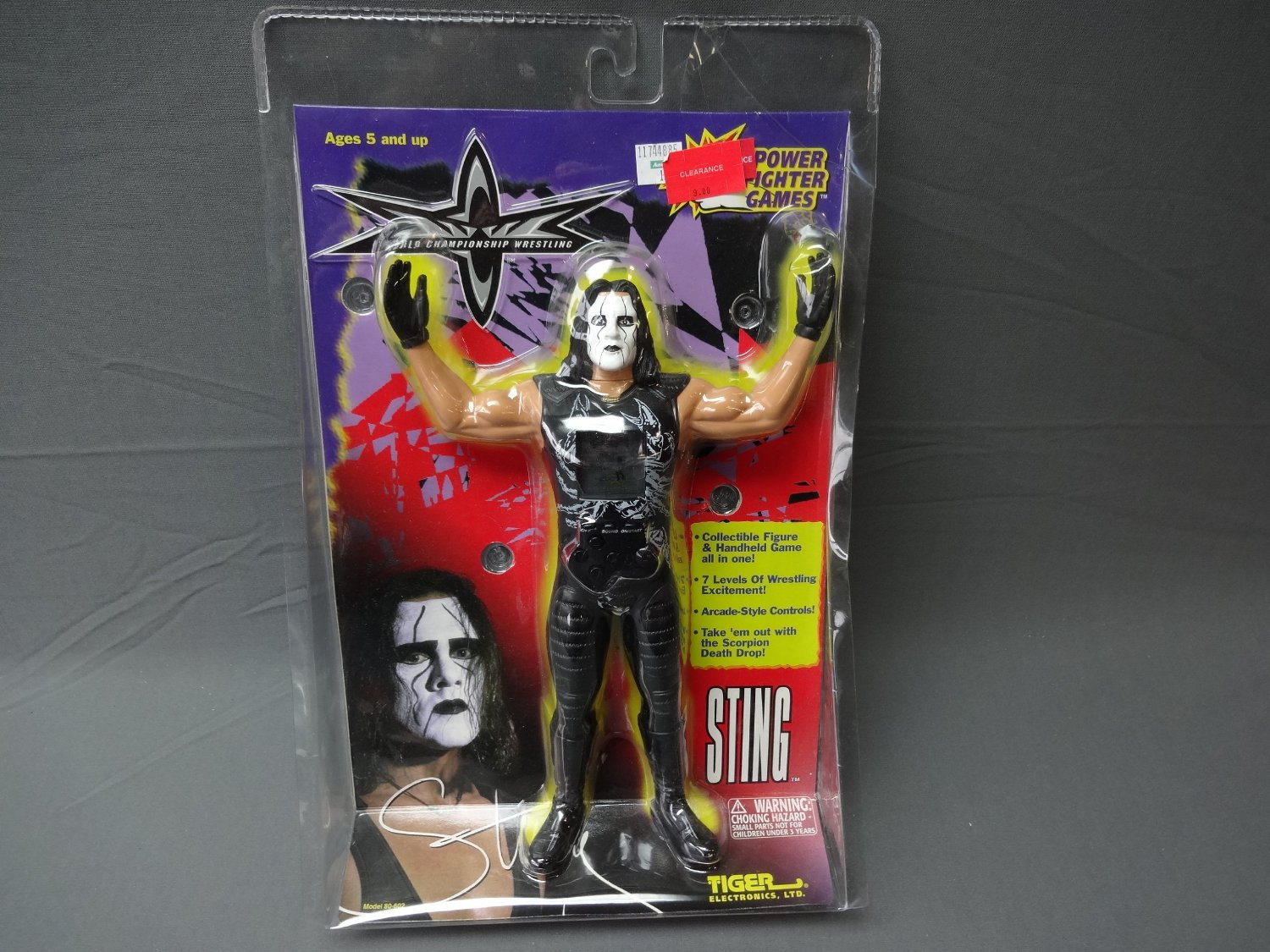 WCW Power Fighter game Sting 1