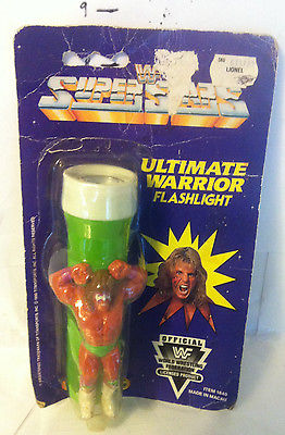 WWF Ultimate Warrior flashlight