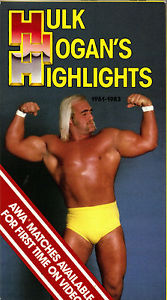AWA Hulk Hogan Hulk Hogan's Highlights VHS Video Tape