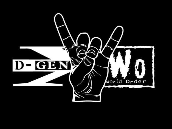 D-Generation X NWO New World Order Syxx X-Pac shirt