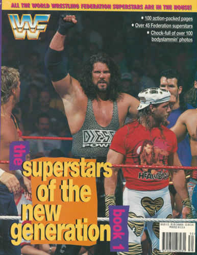 WWF Superstars Of The New Generation Magazine