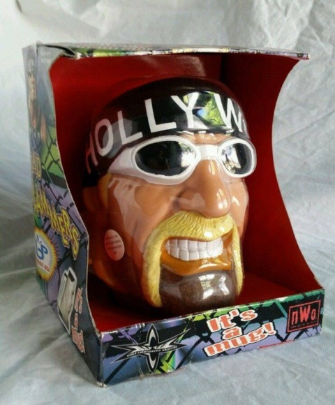 Hollywood Hulk Hogan face mug