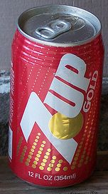 7-up Gold can