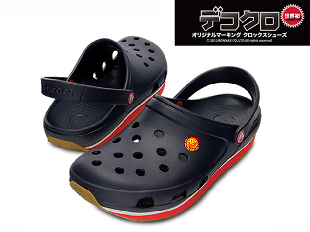 NJPW New Japan Pro Wrestling Crocs shoes