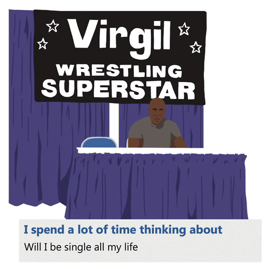 Virgil Wrestling Superstar shirt
