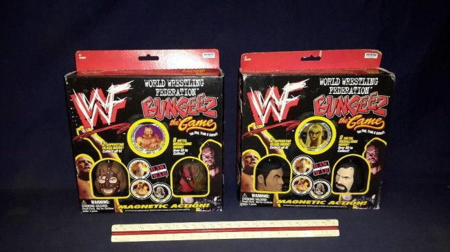 WWF Bungeez two game sets