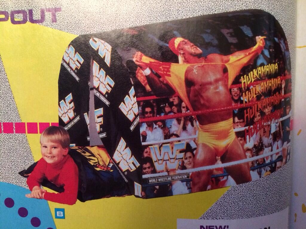 WWF Hulk Hogan sleeping tent 1992