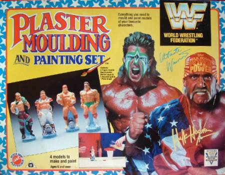 WWF Plaster Moulding And Painting Set 1