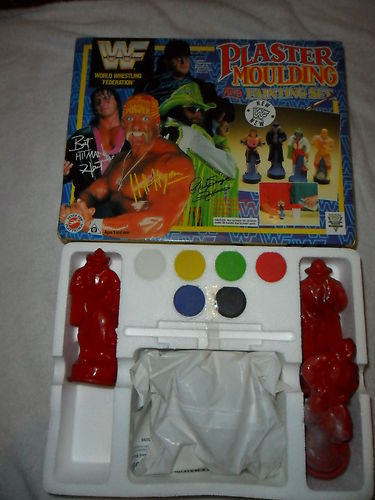 WWF Plaster Moulding And Painting Set 2