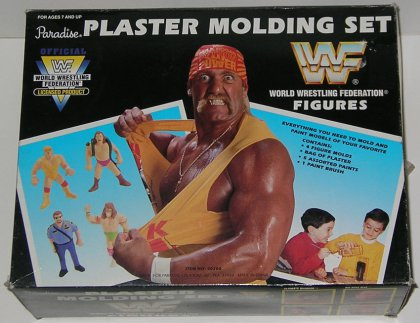 WWF Plaster Moulding And Painting Set 3