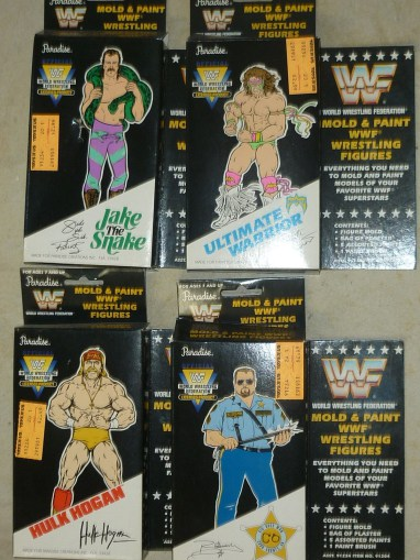 WWF Plaster Moulding And Painting Set 4