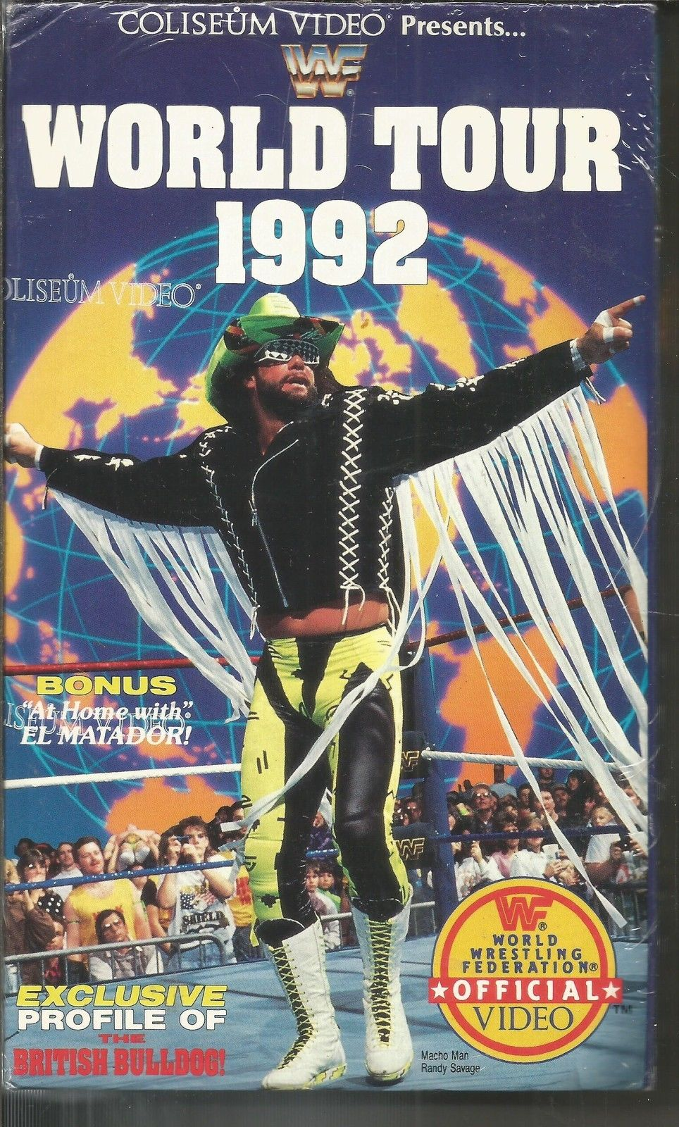 WWF World Tour 1992 with fly swatter 1