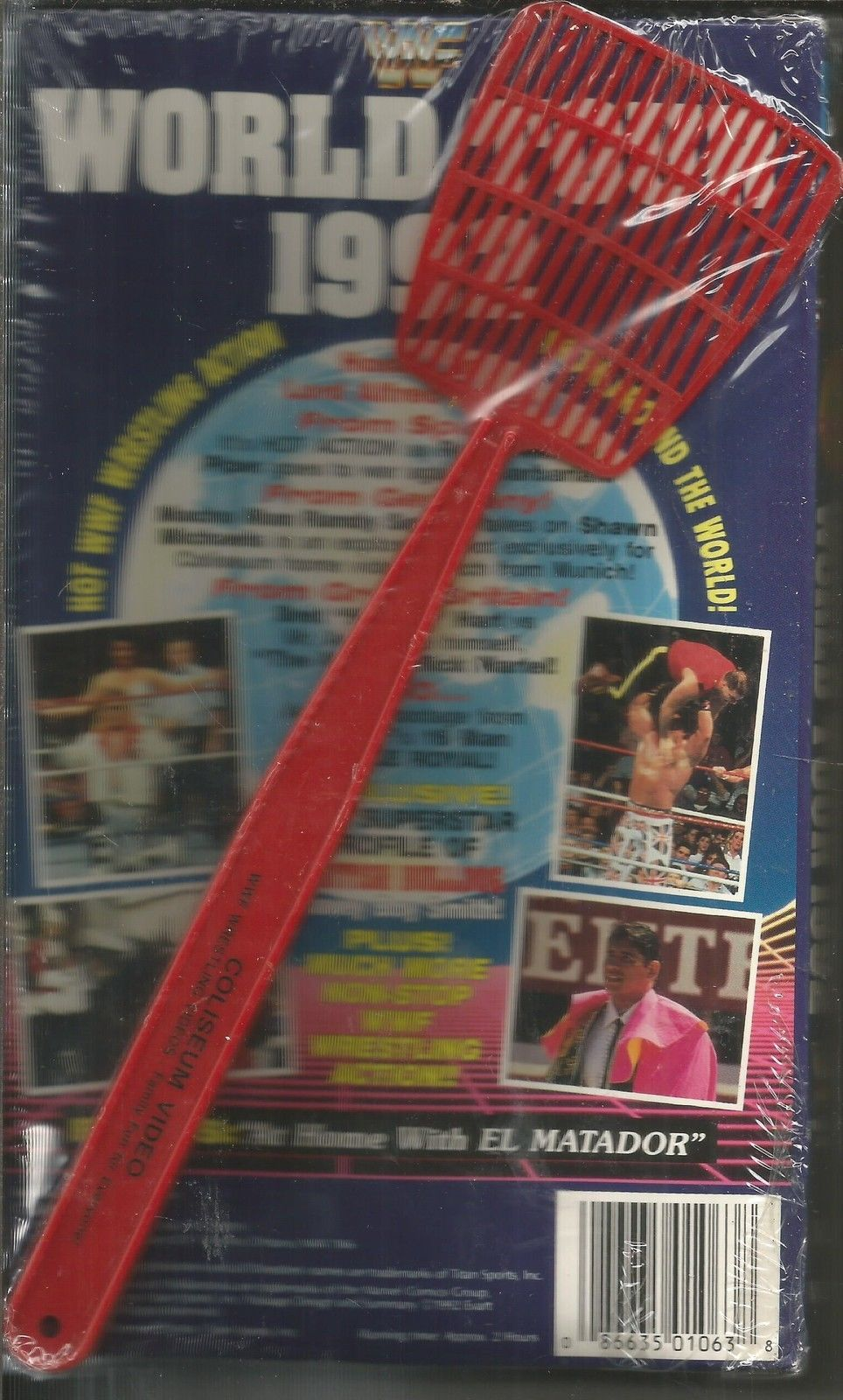 WWF World Tour 1992 with fly swatter 2