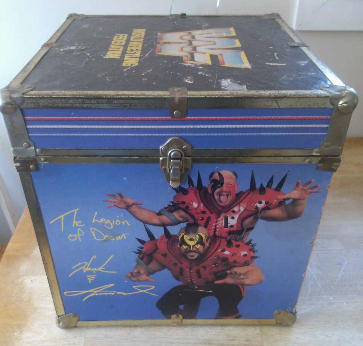 Someone Bought This Wwf Toy Box The Coolest Place To Put