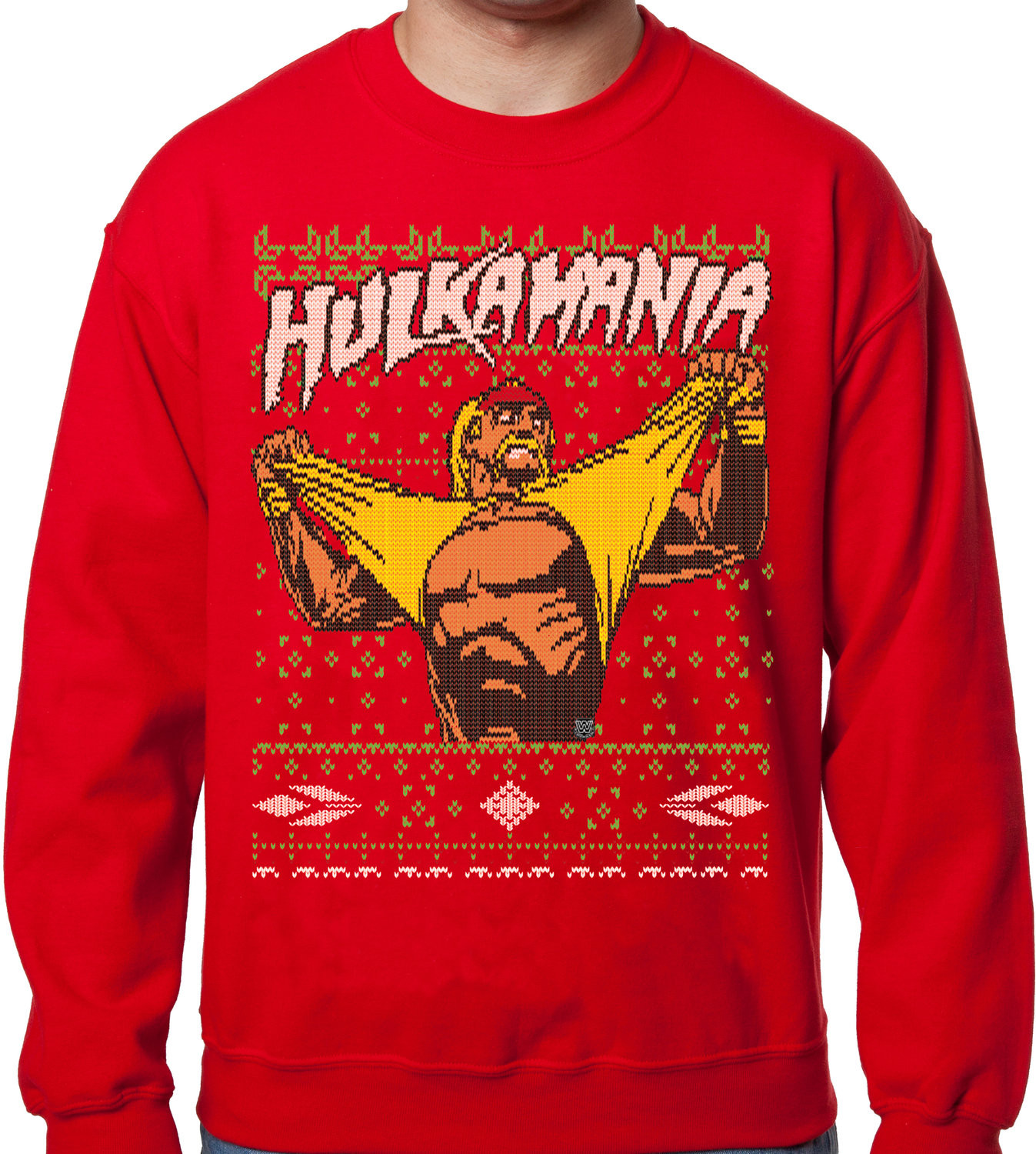 Someone Bought This: You can make a Hulk Hogan Ugly Christmas ...