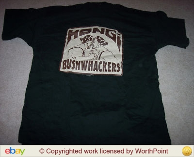 The Bushwhackers Hongi shirt