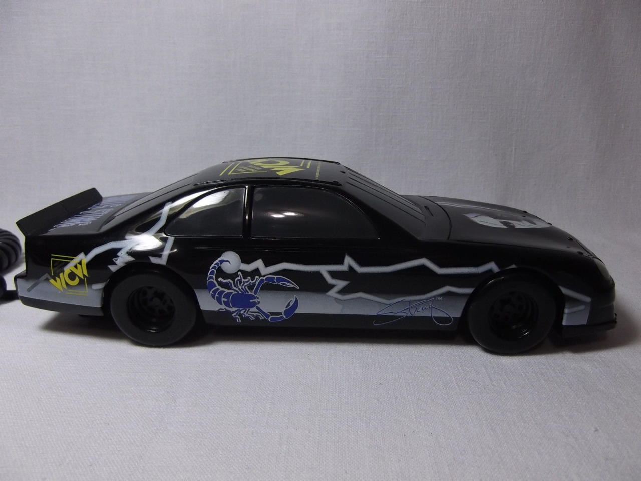 WCW Sting race car telephone 2