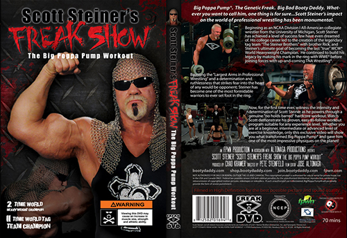 Induction Scott Steiner S Freak Show The Greatest Workout In History Of Man