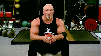 If You Wanted To Listen Scott Steiner Calmly Explaining How Warm Up Your Body While Looking Blankly Into The Camera But Really Who Could Possibly
