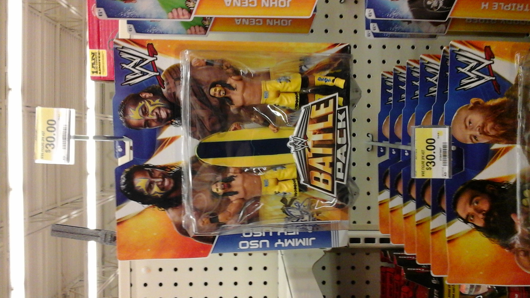WWE Usos surifng figures