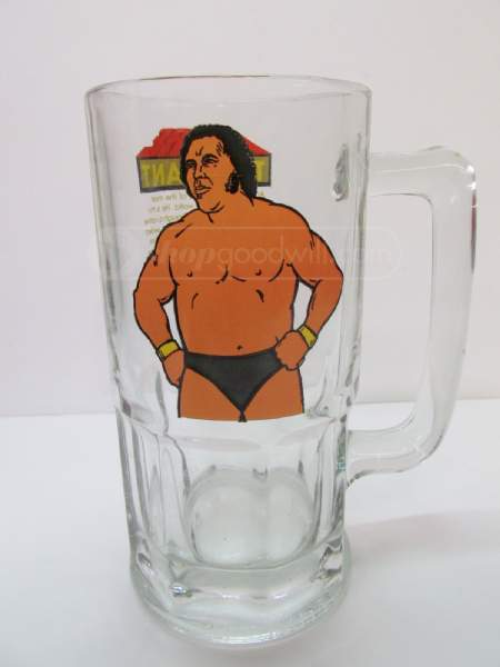 Andre The Giant beer mug 1