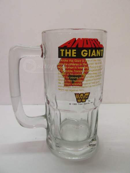 Andre The Giant beer mug 2