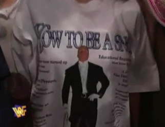 Hunter Hearst Helmsley Triple H How To Be A Snob shirt