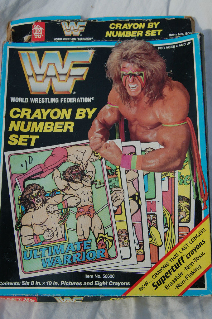 WWF Crayon By Number set 2