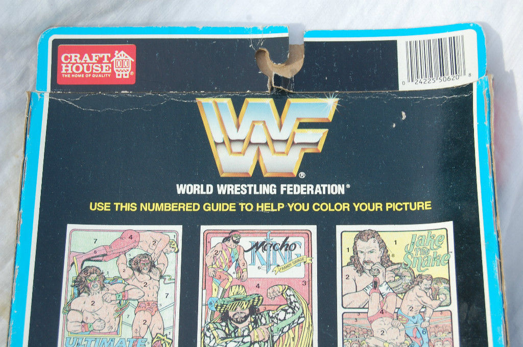 WWF Crayon By Number set 3