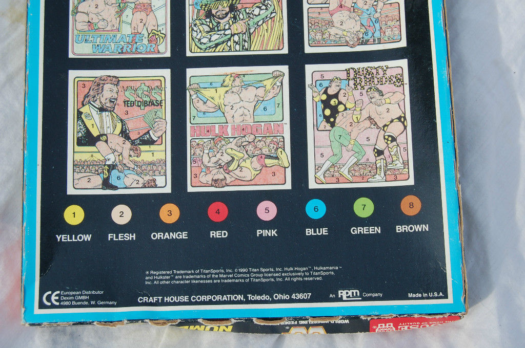 WWF Crayon By Number set 4