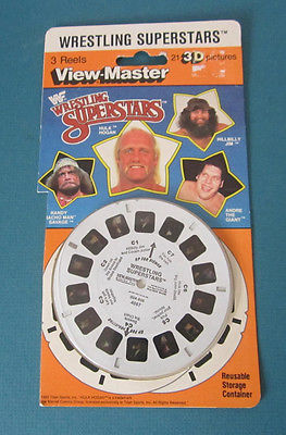 WWF view-master reels in box front