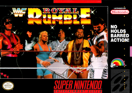 WWF Royal Rumble Super Nintendo video game