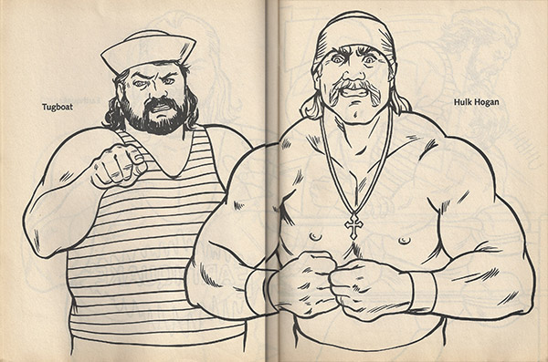 Next We Get The Legendary Team Of Hulk Hogan And Tugboat Or As I Refer To Them Im A So Dont Call Me Ferry Powers