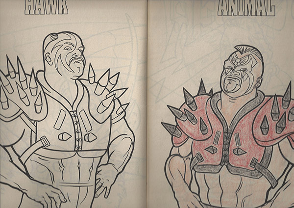 INDUCTION: Some Random WWF Coloring Book from 1991 - Ok, Actually ...
