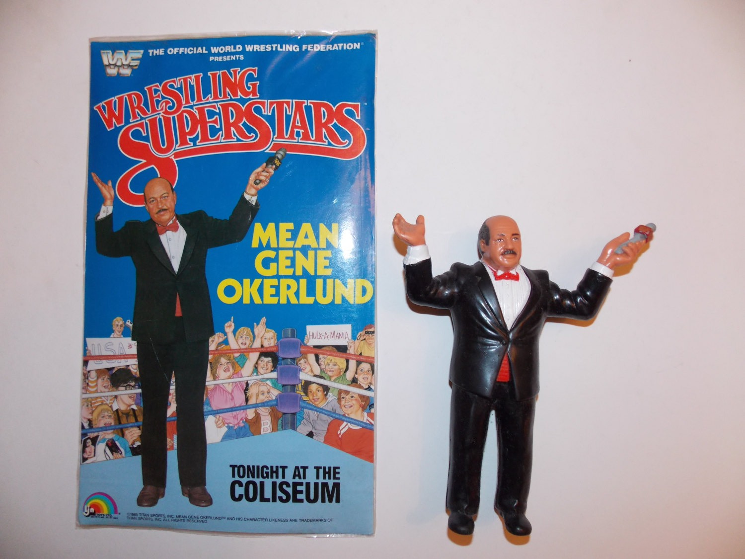 Mean Gene Oklerlund LJN figure  high resolution photo
