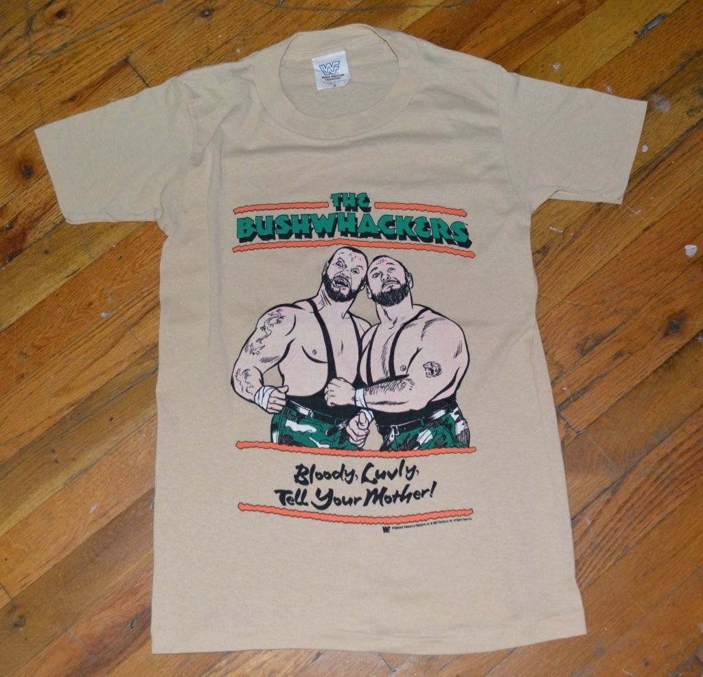 WWF Bushwhackers Lovely Mother shirt