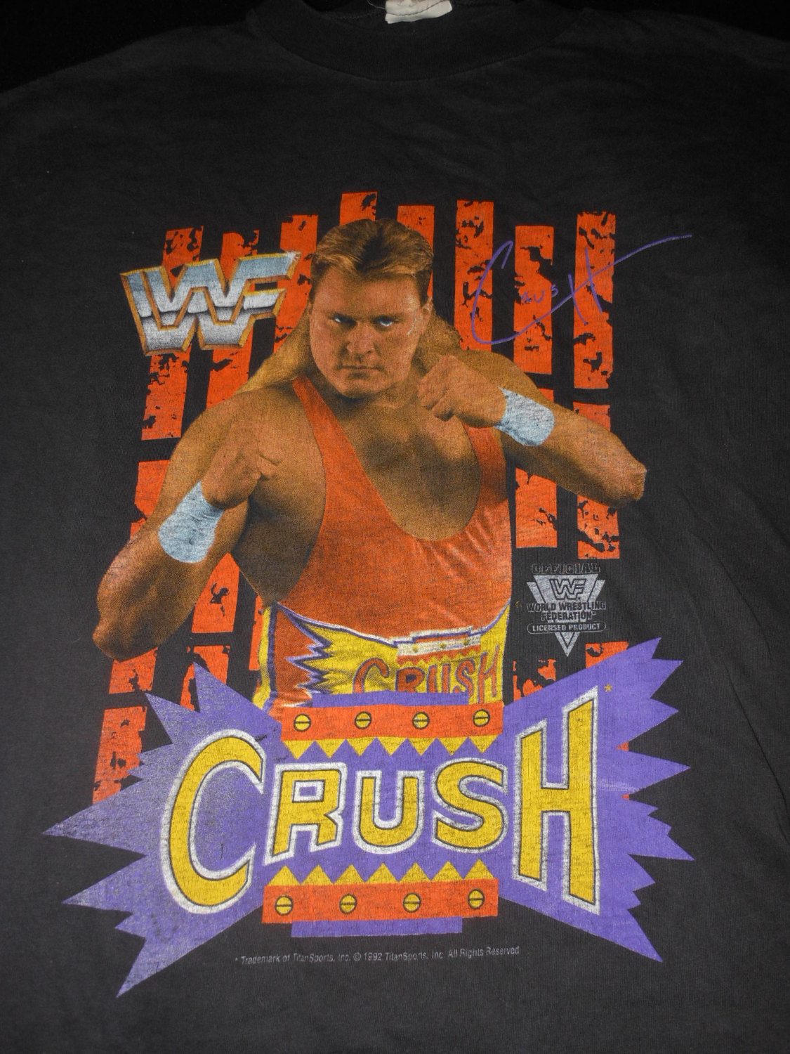WWF Crush shirt