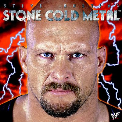 WWF Stone Cold Metal CD album Steve Austin