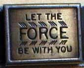 Star Wars Let The Force Be With You bootleg belt 2