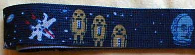 Star Wars Let The Force Be With You bootleg belt