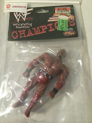 Ahmed Johnson Bend %22em Bendy figure