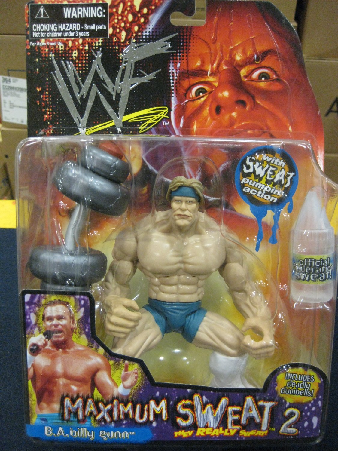 Billy Gunn Maximum Sweat figure toy