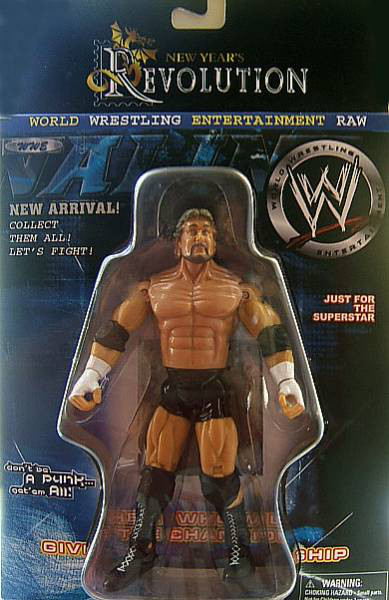 CM Punk Ted DiBiase bootleg figure toy
