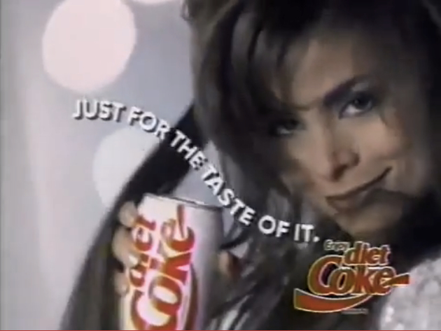 Diet Coke Paula Abdul Just For The Taste Of It