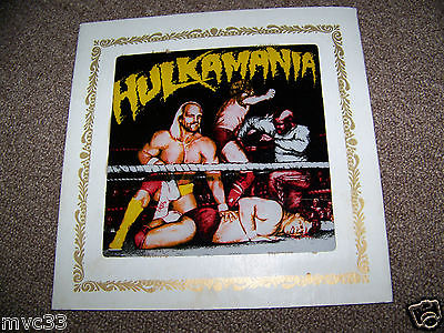 Hulk Hogan Hulkamania carnival glass