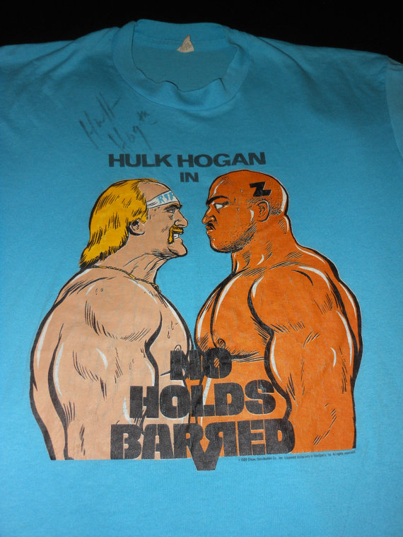 Hulk Hogan Zeus No Holds Barred shirt