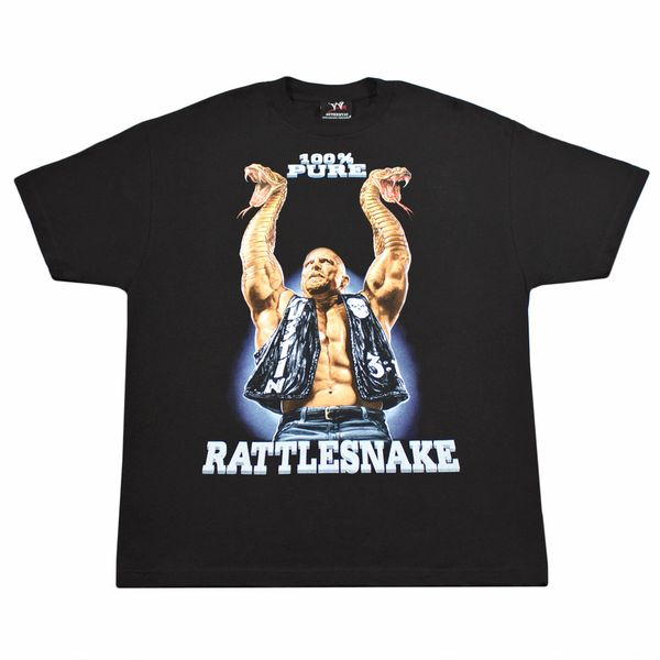 Stone Cold Steve Austin 100% Pure Rattlesnake arms shirt